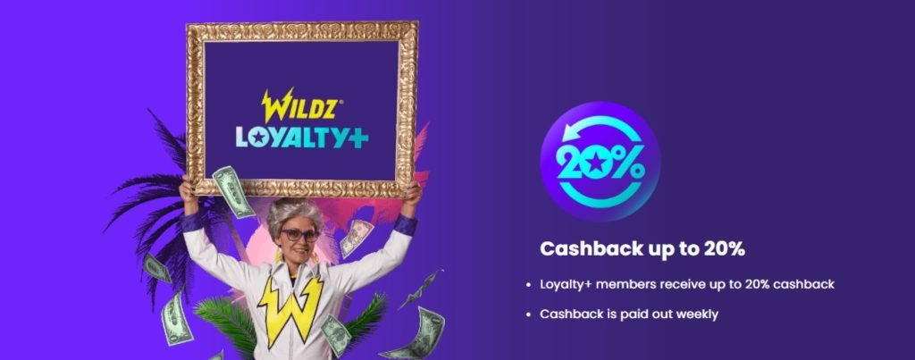 wildz casino loyalty+