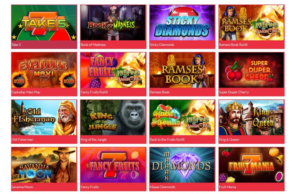 Check here the PartyCasino Fun Games